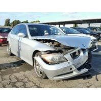 2006 Bmw 330I 4 Door Damaged Front Silver