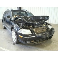 2005 Volkswagen Passat Tdi Wagon Black Damaged Front