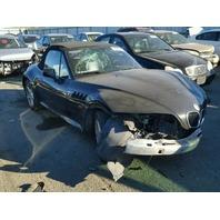 1999 BMW Z3 Convertible Black Front Damage For Parts