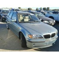 2003 BMW 325i 2.5 Wagon damaged left rear for parts