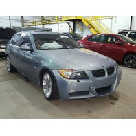 2006 BMW 330XI GREY DAMAGE UNDERCARGE FOR PARTS