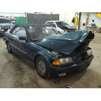 1995 Bmw 325i 2dr conv green hit front and rear for parts