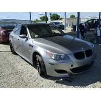 2008 BMW M5 theft grey for parts
