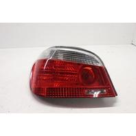 2006 BMW 525i Sedan E60 Left Driver Tail Lamp Assembly 63217165739