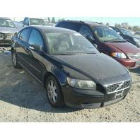 2007 VOLVO S40 BLACK SEDAN FOR PARTS