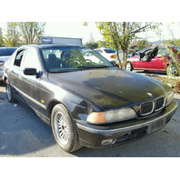 1998 Bmw 540I Black Sedan