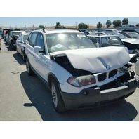 2004 Bmw X3 Gold Damaged For Car Parts