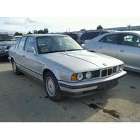 1990 BMW 525i Sedan 2.5 Rear Damage For Parts 17054