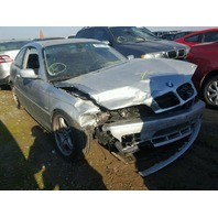 2002 BMW 330 CI Silver Coupe Damaged Front For Parts