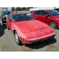 1987 924 Porsche CPE 2DR/RED