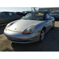 1998 Porsche Boxster Convertible Silver