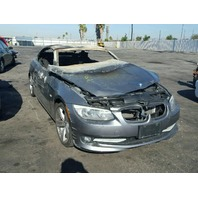 2011 BMW 328i Fire Damage For Parts 17074