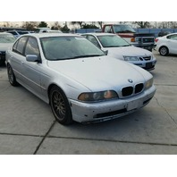 2001 530I BMW SDN 4DR/SILVER FOR PARTS