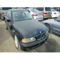 2000 528I BMW SDN 4DR/BLACK FOR PARTS