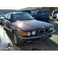1994 740I BMW SDN 4DR/MAROON FOR PARTS