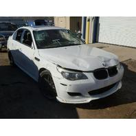 2008 BMW M5 Sedan  4 Door White Damage Front For Parts