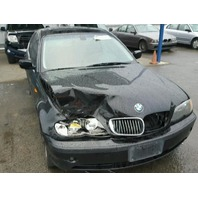 2004 330CI BMW SDN 4DR/BLACK  FRONT DAMAGE FOR PARTS