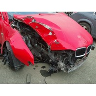 2002 745I BMW SDN 4DR/RED FRONT DAMAGE FOR PARTS
