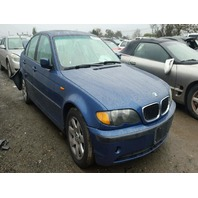 2002 325CI BMW SDN 4DR/BLUE RAER DAMAGE FOR PARTS