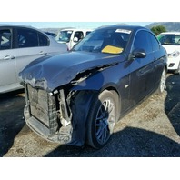 2007 328I BMW CPE 2DR/GREY FRONT DAMAGE FOR PARTS