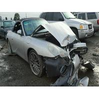 1999 Porsche 911 Convertible Silver Front Damaged Silver