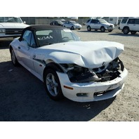 1997 Z3 BMW CONV 2DR/WHITE FRONT DAMAGE FOR PARTS