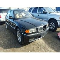 2000 Bmw 740I Black Sedan 4.4L Automatic