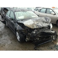 2013 Volkswagen Jetta Sedan Black Fire Damage Front