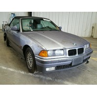 1995 Bmw 325i 2rd conv silver hit right rear for parts