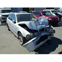 2001 540I BMW SDN 4DR/SILVER FRONT DAMAGE FOR PARTS