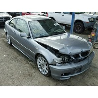 2004 330CI BMW CPE 2DR/GREY FRONY DAMAGE FOR PARTS