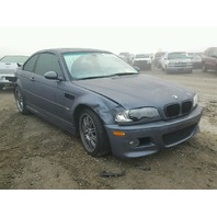 2003 Bmw M3 3.2 Coupe Damage Front/Rear