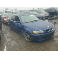 2002 330XI BMW SDN 4DR/BLUE FOR PARTS