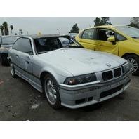 1998 Bmw M3 2dr silver damaged left side for parts