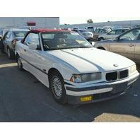 1995 325I BMW CONV 2DR/WHITE REAR DAMAGE FOR PARTS