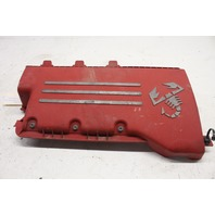 2015 Fiat 500 1.4 Abarth Convertible Red Engine Motor Cover