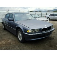 2001 Bmw 740i blue for parts