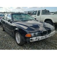 1999 528I BMW SDN 4DR/BLACK FRONT DAMAGE FOR PARTS