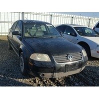 2004 Volkswagen Passat V6 black for parts