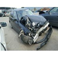 2001 330I BMW SDN 4DR/BLACK FRONT DAMAGE FOR PARTS