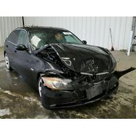 2006 Bmw 330i 4dr black damaged front for parts