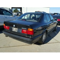 1993 525I BMW SDN 4DR/BLACK  FOR PARTS