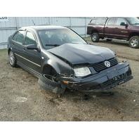 2004 Volkswagen Jetta GLI Black 1.8T manual Damage Left Rear