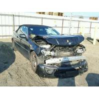 2004 BMW 330Ci Convertible Front Damage Black