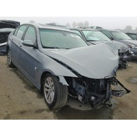 2007 328I BMW SDN 4DR/GREEN FRONT DAMAGED FOR PARTS