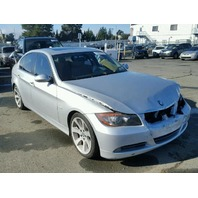2006 BMW 330I Silver Sedan 4Dr 3.0 For Parts