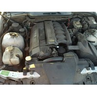 1998 328I BMW CONV 2DR/SILVER FRONT LEFT DAMAGE FOR PARTS