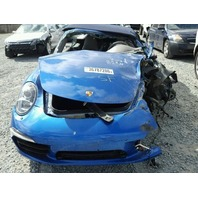 2015 Porsche 911 CONV 2DR/BLUE FRONT DAMAGE AND BACK RIGHT DAMAGE FOR PARTS