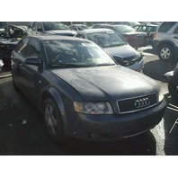 2002 Audi A4 1.8t grey hit rear for parts
