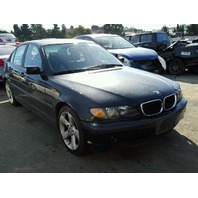 2004 325I BMW SDN 4DR/BLACK  FOR PARTS